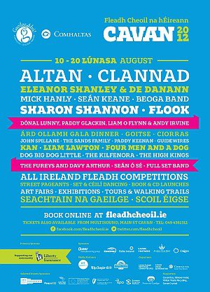 Fleadh Cheoil 2012 Camping Accomodation in Cavan
